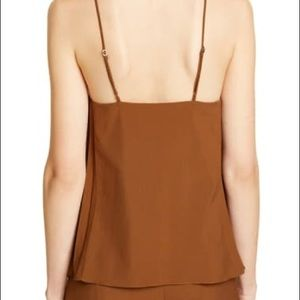 Tibi Tops - Edith Pleated Camisole TIbi